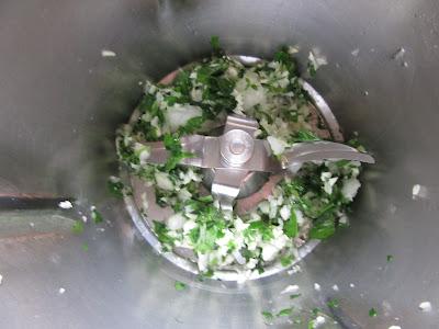 Hamburguesas de merluza en salsa Thermomix