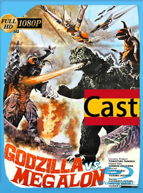 Godzilla VS Megalon [1973] HD [1080p]  Castellano[GoogleDrive] SilvestreHD