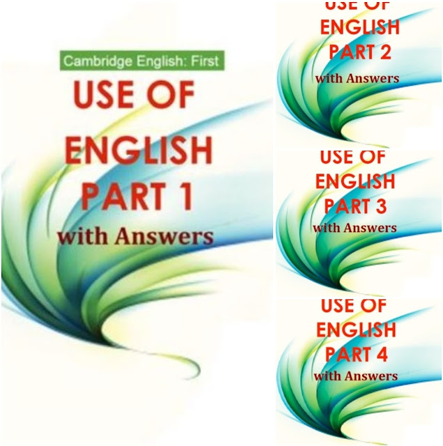 📚Cambridge English: First Use of English with Answers parts 1-4
