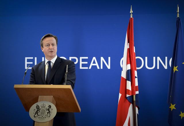 Image Attribute: British Prime Minister David Cameron at the European Council meeting of 6th March 2014. Photo credit: The Prime Minister's Office.