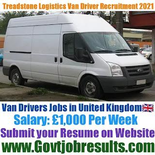 Treadstone Logistics Van Driver Recruitment 2021-22