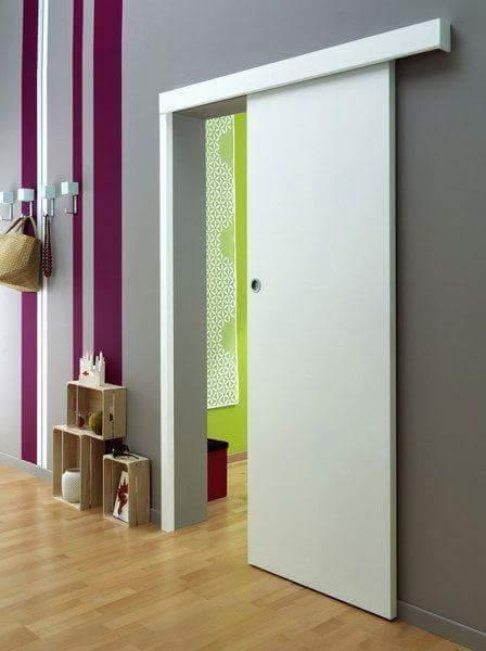 Contoh Desain Pintu Geser Rumah Minimalis Modern Foto