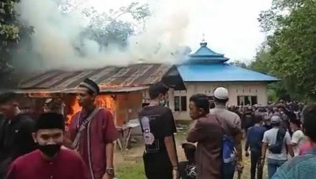 Respons Pembakaran Masjid Ahmadiyah, PA 212: Itu Reaksi Umat Atas Pembiaran Aliran Sesat