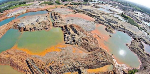 impactos ambientales de la minería ilegal