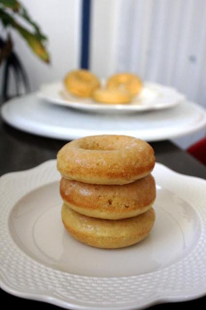 Vanilla Baked Doughnuts Fresh From The