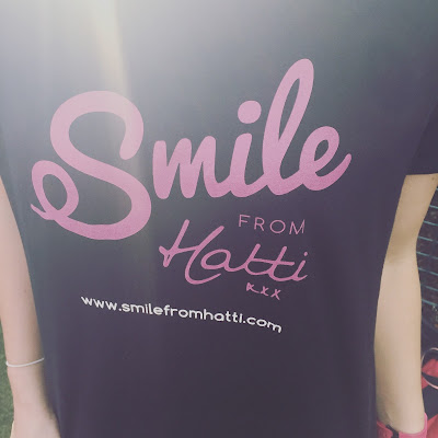 """My """"smile from hatti"""" t-shirt"""