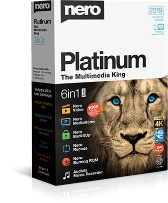 Nero Platinum 2019 Suite 20 Crack e Serial Download Grátis