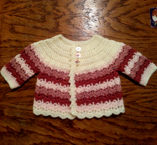 Pretty Baby Coat - Free Pattern