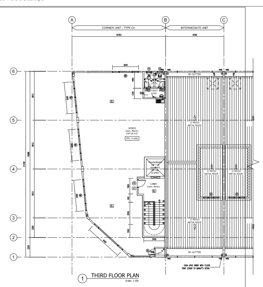 Nusajaya Square 2 Floor Plan of 3 Storey Intermediate Lots