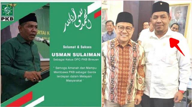 Ketua DPC PKB Bireun Diduga Jadi Gembong Narkoba, Jadi Buronan Polda Sumut