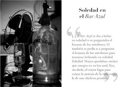 soledad en el bar azul