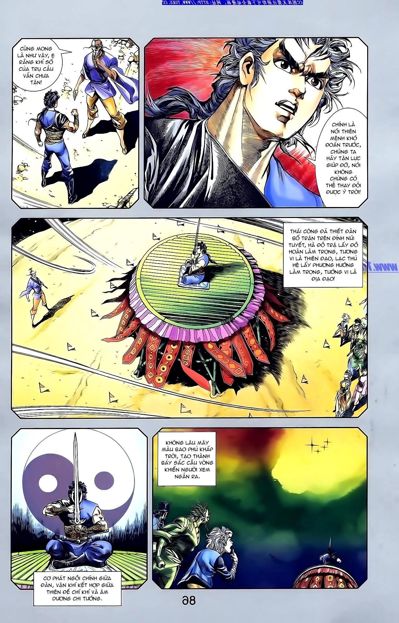 Cơ Phát Khai Chu Bản chapter 148 trang 21