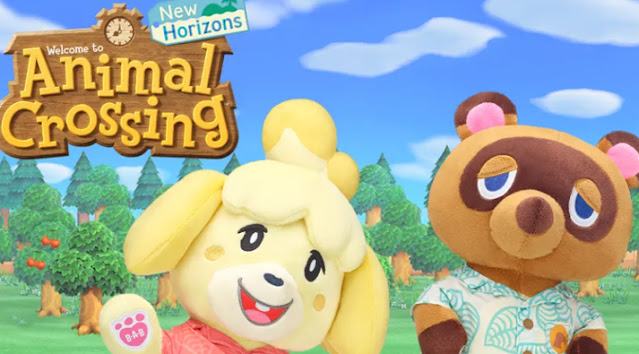 Build A Bear Nintendo Animal Crossing