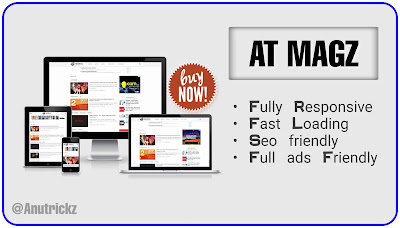 ATMagz Seo Based Blogger Template 2019