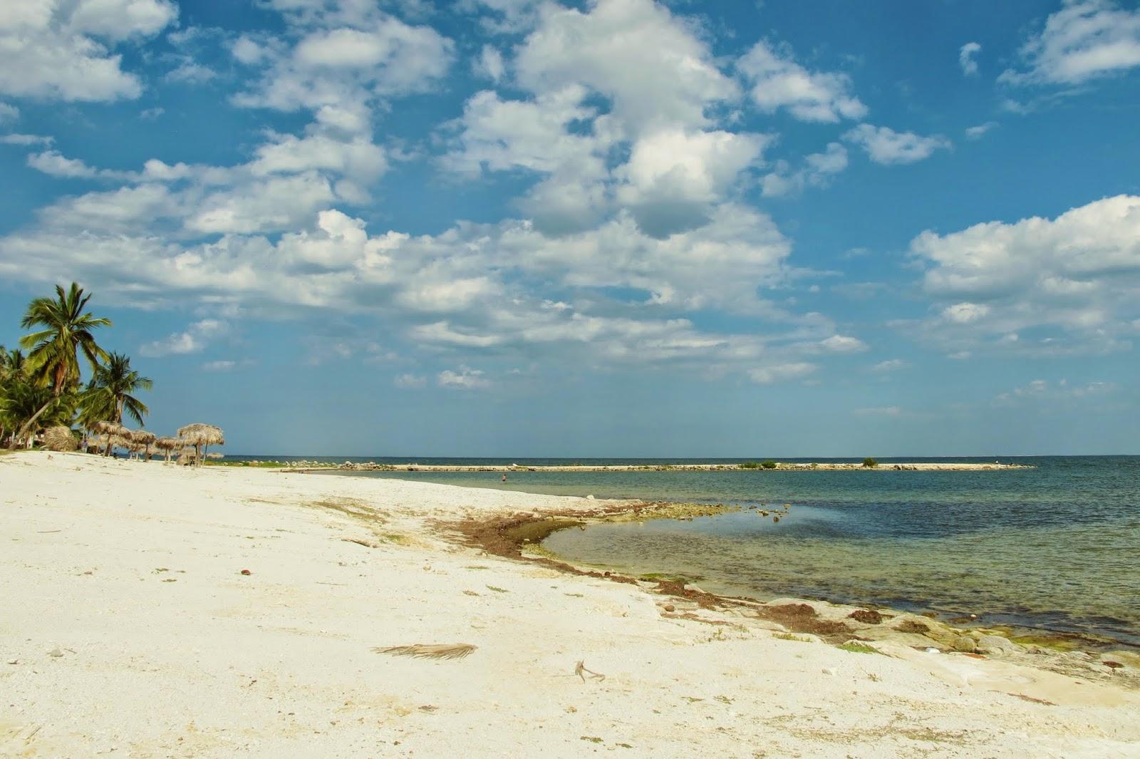 Caibarien, a praia mais próxima de Remedios, em Cuba.
