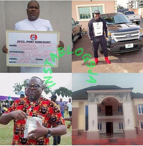 More Woes For Fraudsters As EFCC Arraigns Abia Big Boy And Alleged Fraud Kingpin For $8.5m U.S Bank Scam #Arewapublisize