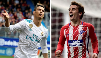 Highlight Real Madrid 1-1 Atletico Madrid, 8 April 2018