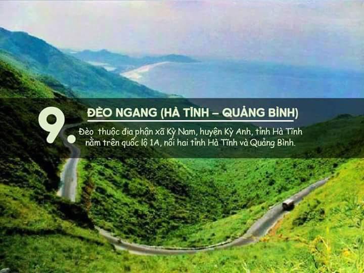 Đèo Ngang (Hà Tĩnh - Quảng Bình)