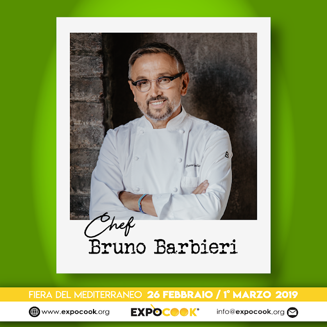 expo cook 2019 bruno barbieri