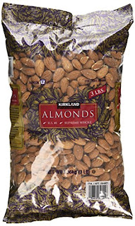 Kirkland Almonds - Supreme Whole Almond Nuts by Signature - Grocery