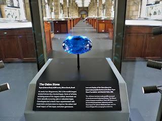 The Ostro Stone, Topacio, Brasil,  Museo Historia Natural de Londres