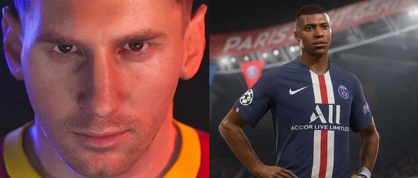 Comparison of PES 2022 vs FIFA 2022