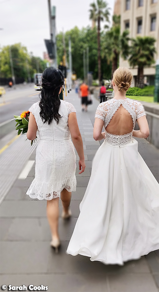 Walking brides