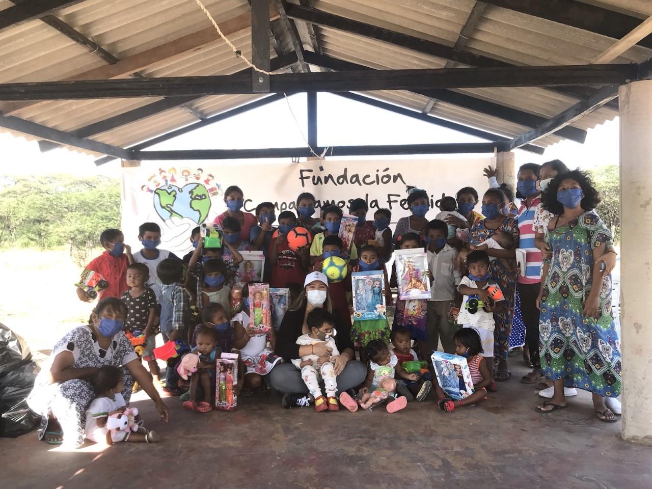 https://www.notasrosas.com/Fundación  'Compartamos la Felicidad', realizó Balance de Actividades 2020