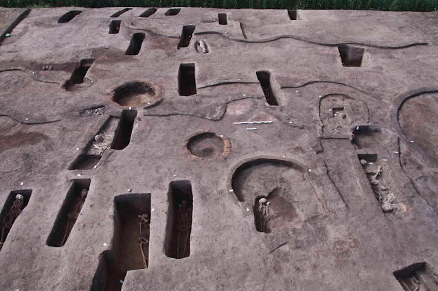 Ancient tombs and prehistoric burials found in Nile Delta