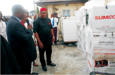 AKSG donates power generating sets to enhance National ID Card enrolment in the State