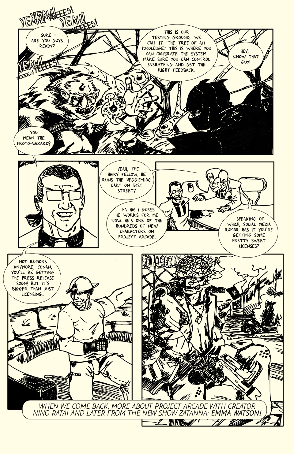 Page 3 art by Roho