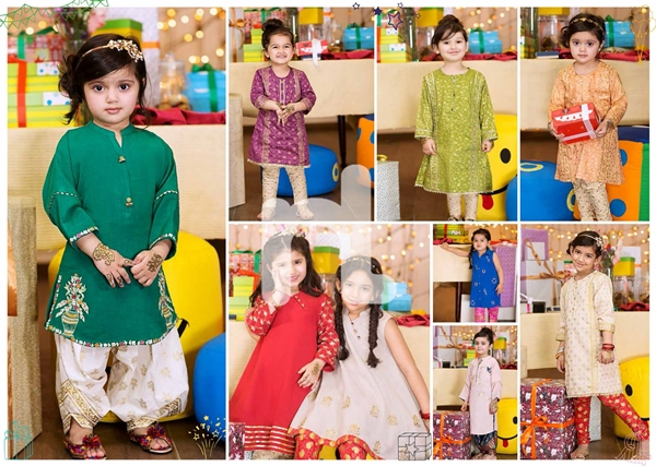 nishat linen kidswear eid collection 2017