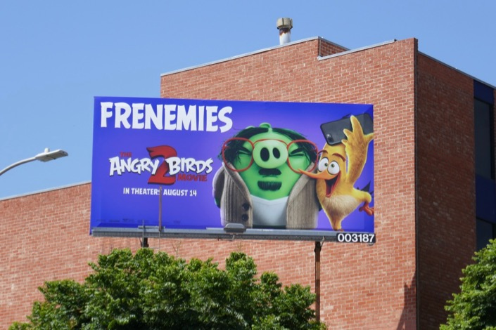Angry Birds Movie 2 billboard