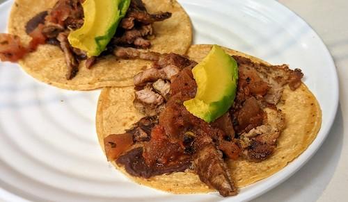 Tacos de poc chuc