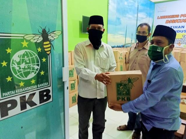 Bagikan 5000 Paket Sembako, Sofyan Ali : ini Wujud Kepedulian Ketum DPP PKB