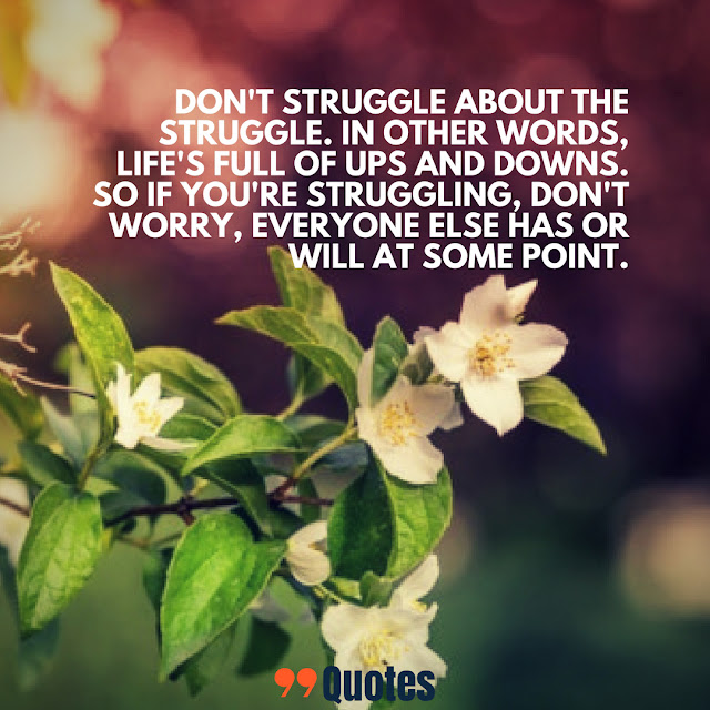 struggle of life quotes