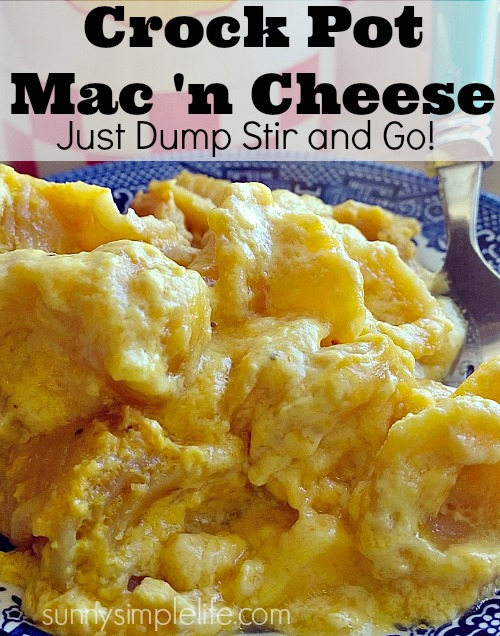 crock pot, slow cooker mac and cheese, pantry meal