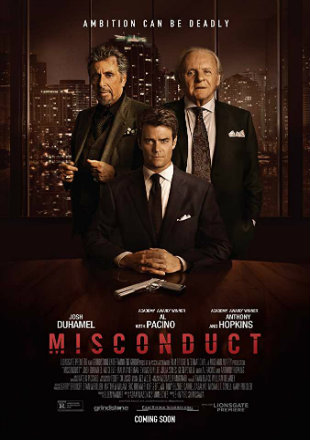 Misconduct 2016 Dual Audio BRRip 720p Hindi English