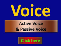 Example of active and passive voice in Hind