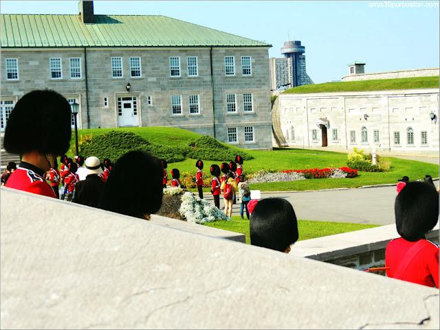 Cambio de Guardia de la Ciudadela de Quebec