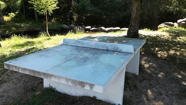 Mesa de Ténis de mesa de cimento