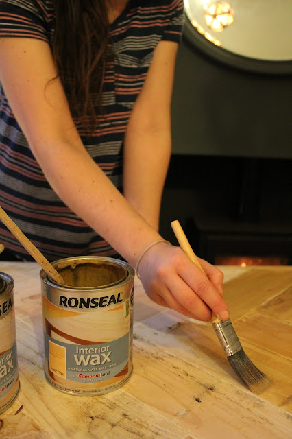 Ronseal Wax Dark Oak