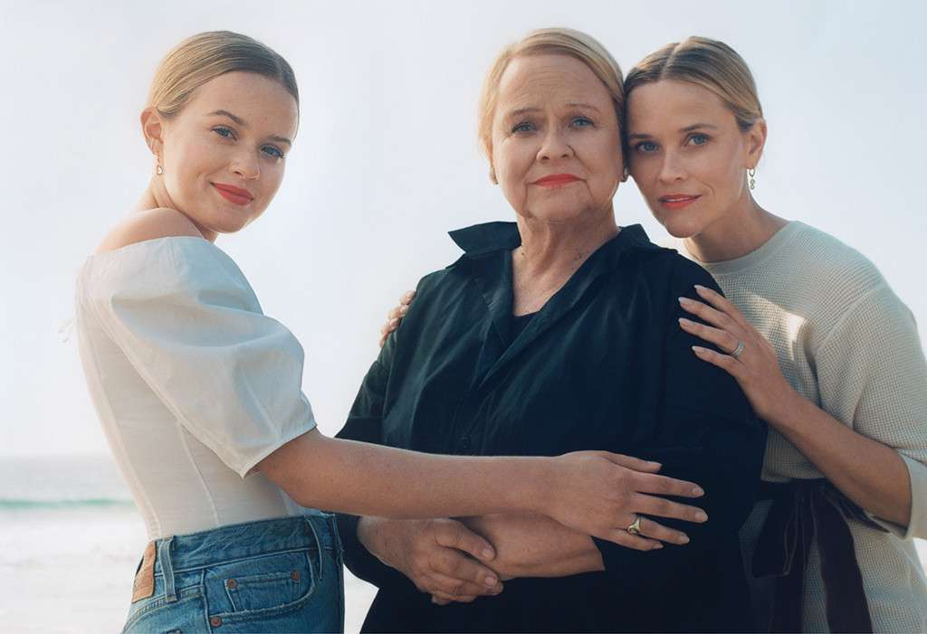Reese Witherspoon Gets Personal and Poses With Her Mom and Daughter for Vogue