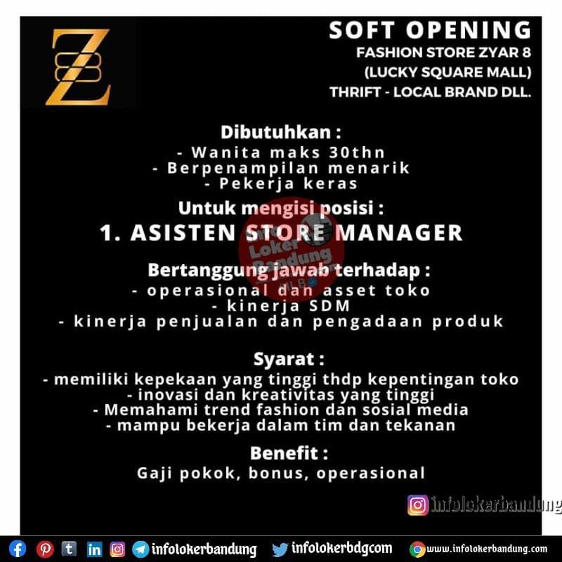 Lowongan Kerja Fashion Store Syar 8 Bandung Juni 2021