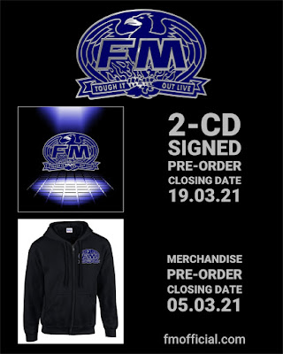 "FM ""Tough It Out Live"" CD and merchandise pre-orders"