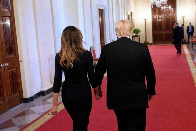 We are fine': Melania Trump dismisses gossip about marriage