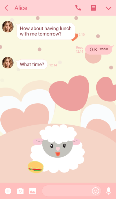 Sheep sheep theme vr.2