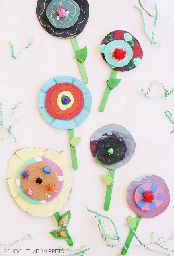 kids flower craft