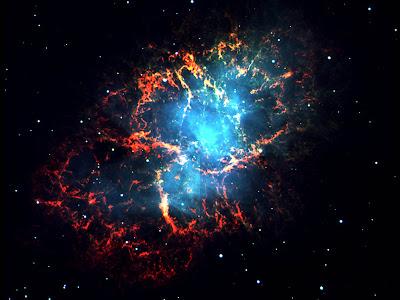 Wallpaper Crab Nebula