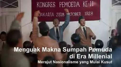 Sumpah Pemuda 28 Oktober Bagi Generasi Muda Bangsa Indonesia